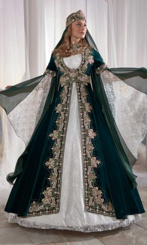 traditional kaftan dresses