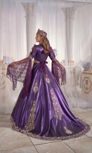 Exclusive Purple Chic Caftan Set Slit Velvet Delicate Sequins buy online evening dress shopping maxi gowns online 1 300x500 - Home