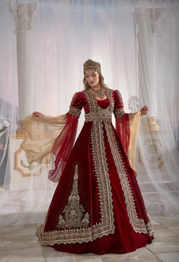 evening wear kaftans