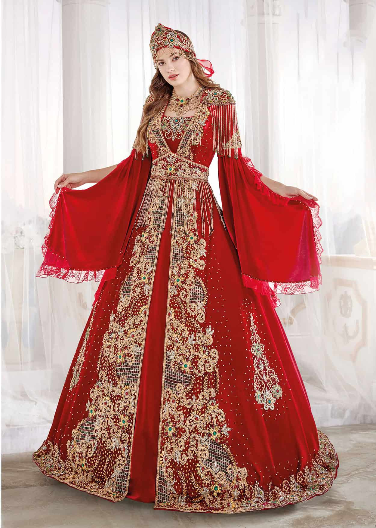 90fa0fb912 best turkish dresses. Luxury exclusive Chic Caftan Set Velvet Delicate  Sequins buy online evening ...