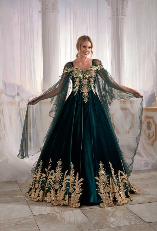 best bridal kaftan dresses evening wear