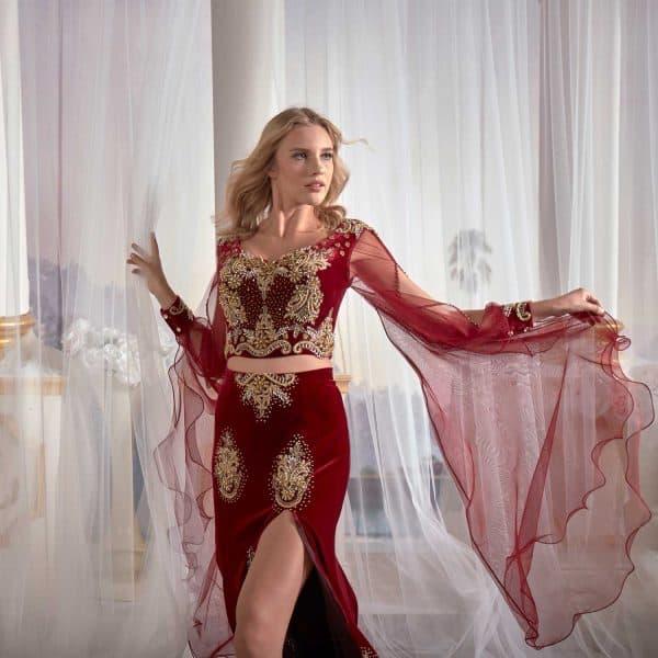 kaftan dressing gown