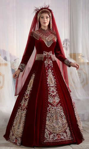 kaftan dresses online shop red muslim dress hijab clothing party dress 1 300x500 - Home