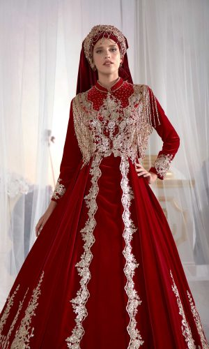 kaftan wedding dress