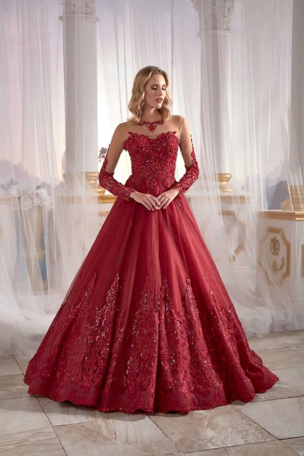 prom dresses with sleeves