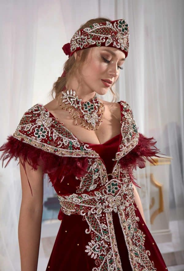 engagement costume for bride